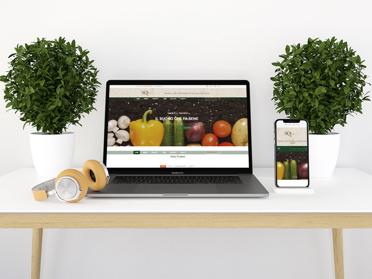 Realizzazione Web Site dinamico e Grafica cartacea - SQFree